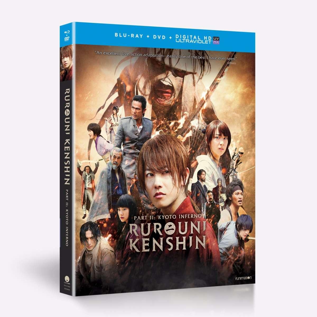 Shop Rurouni Kenshin Part II: Kyoto Inferno
