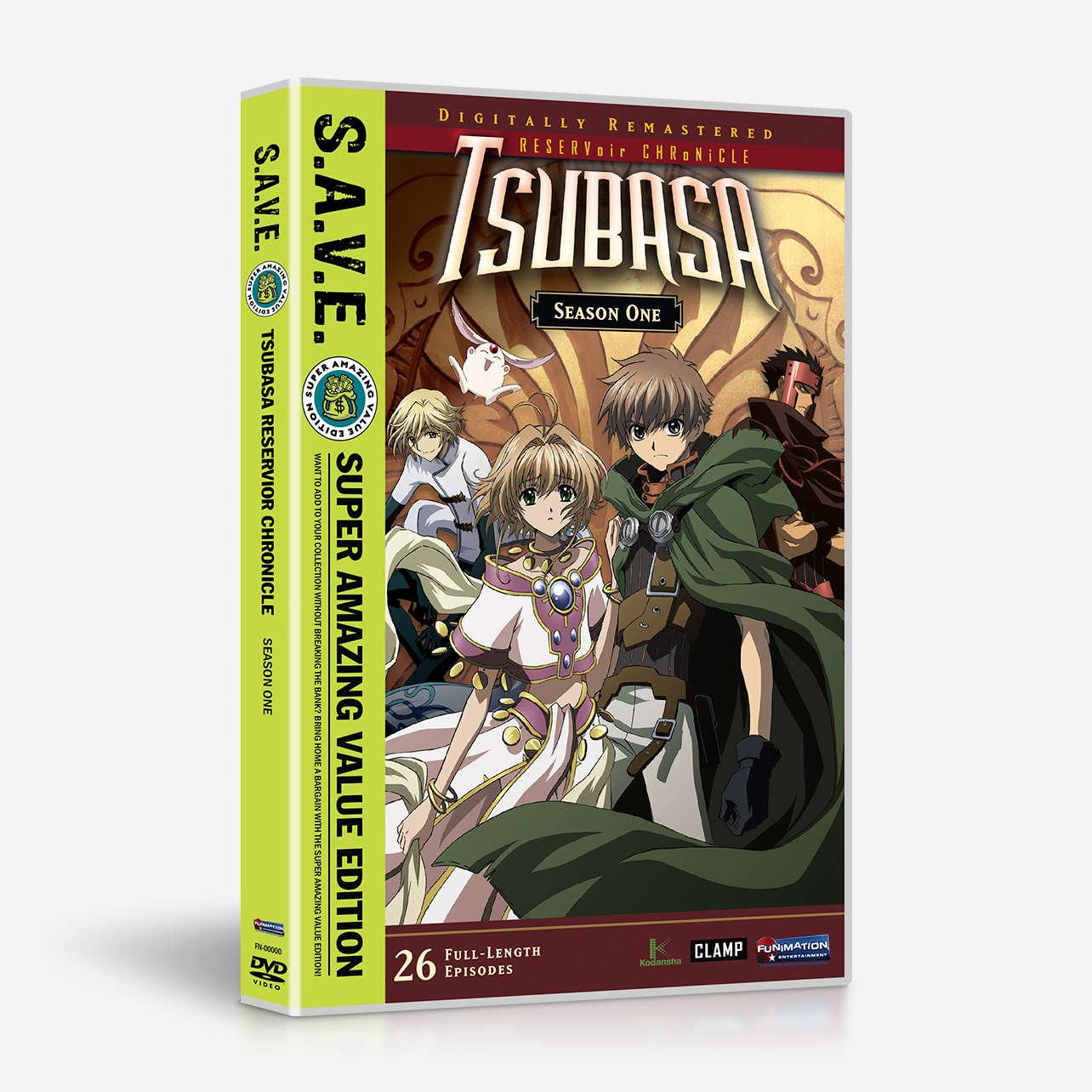 Tsubasa Reservoir Chronicle 1000x865: Shop Tsubasa RESERVoir CHRoNiCLE Season One