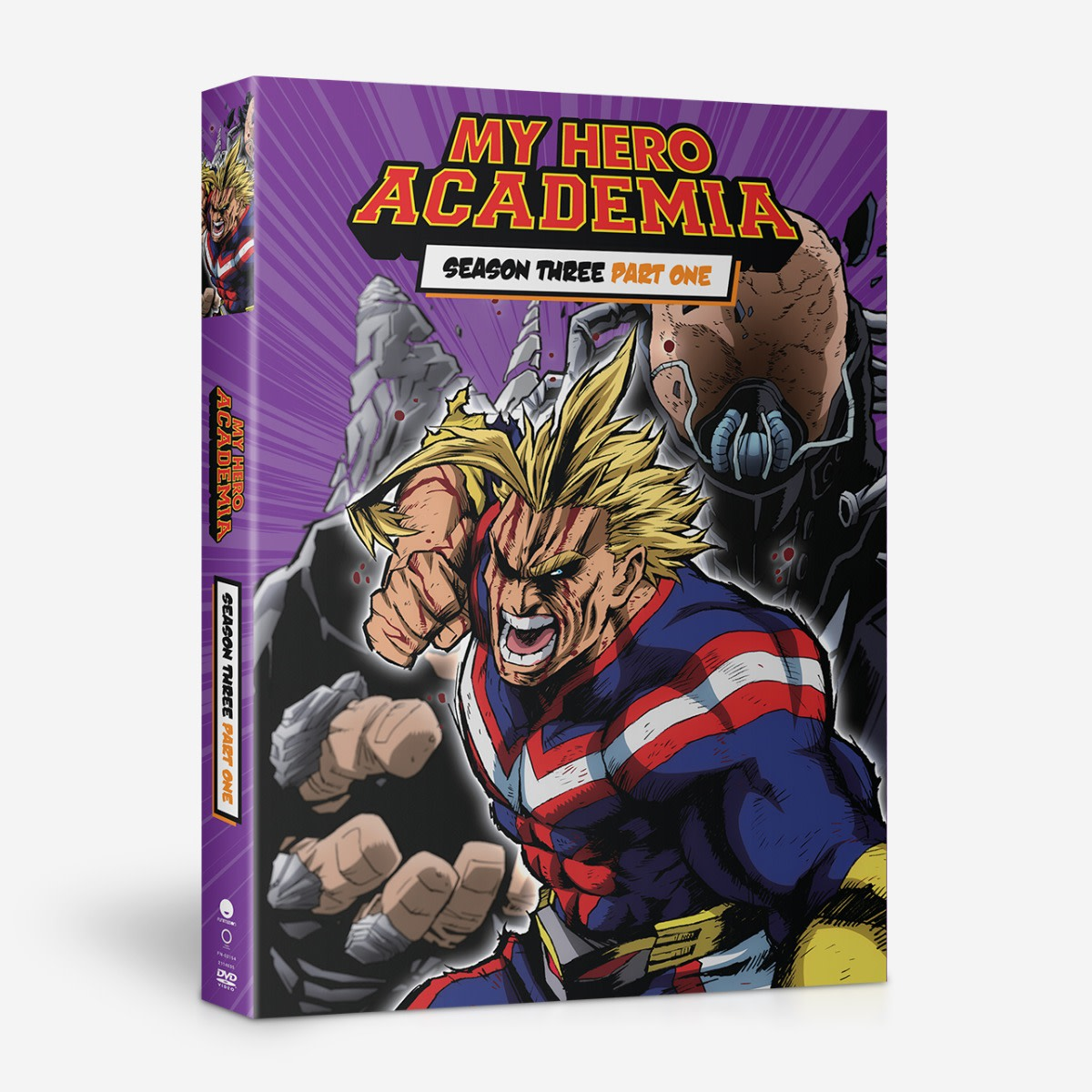 My Hero Academia: Season 3, Part 1 (Blu-ray / DVD Combo