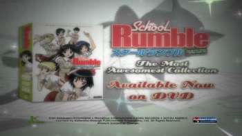 Watch School Rumble Episodes Sub & Dub   Fan Service, Slice of Life